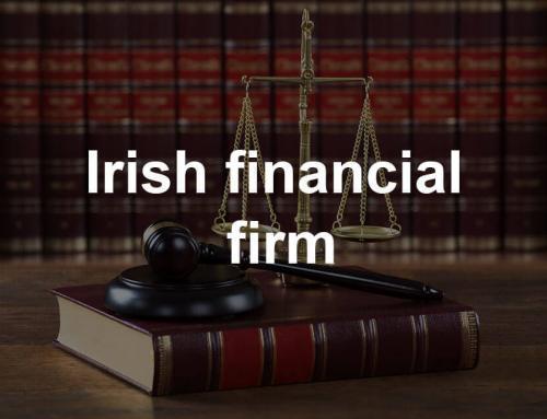 in2tel solve financial firm's regulation worries