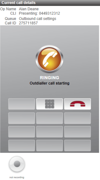 cc4win-Current-call-details-ringing
