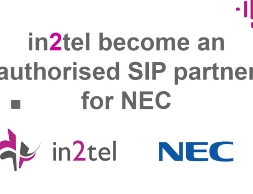 in2tel become an authorised SIP partner for NEC