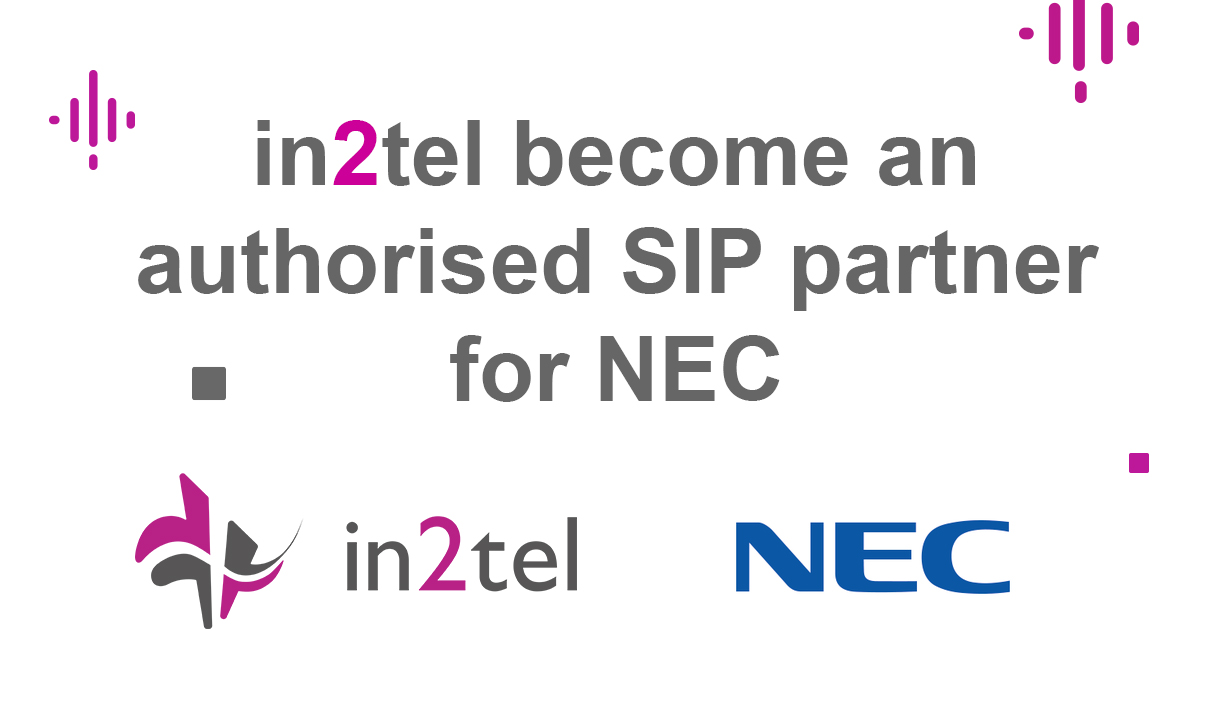 in2tel become an authorised SIP partner for NEC 2