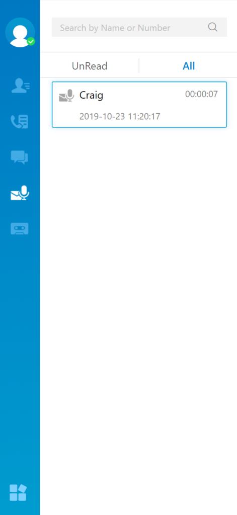 Voicemail-on-linkus-desktop