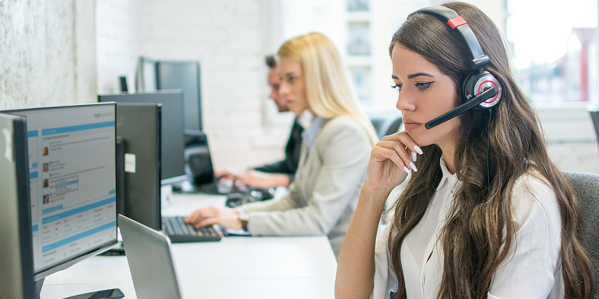 Girl-on-telephone-system