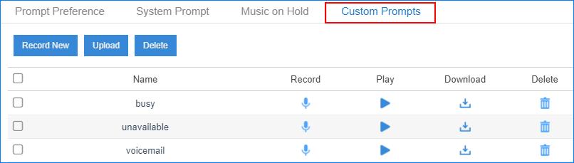 custom-prompt-list-in2pbx