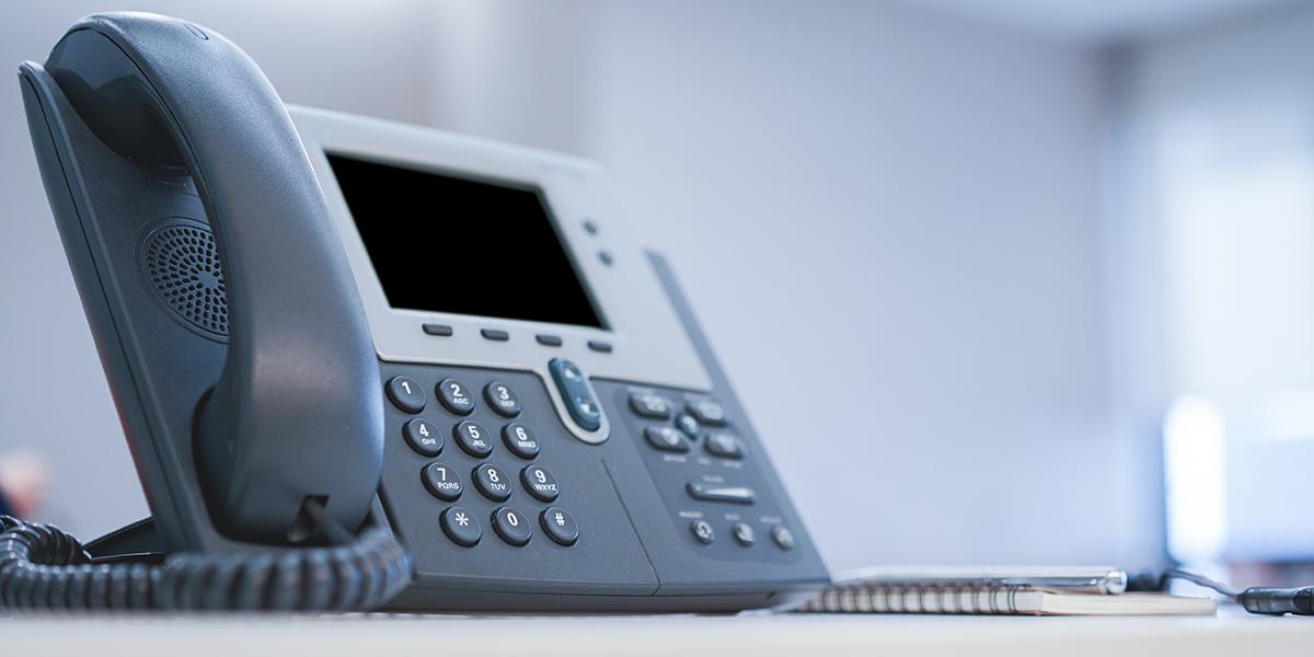 Telephone-system-handset